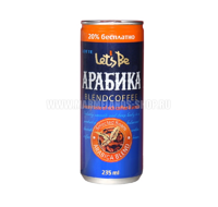 "Кофе ""Let's be"" Arabica 240мл"