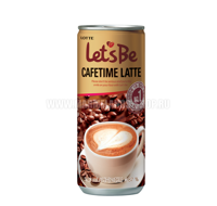 "Кофе ""Let's be"" Cofetime Latte 240мл"